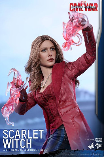 Hot Toys : CAPTAIN AMERICA: CIVIL WAR - SCARLET WITCH