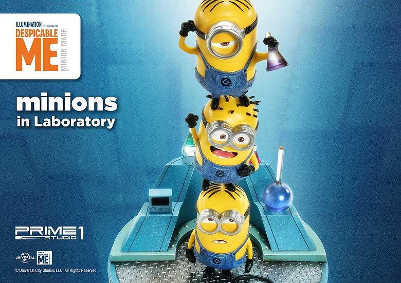 PRIME1STUDIO : Minions in Laboratory