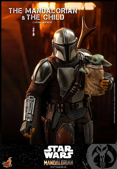 Hot Toys 1/6 : THE MANDALORIAN AND THE CHILD