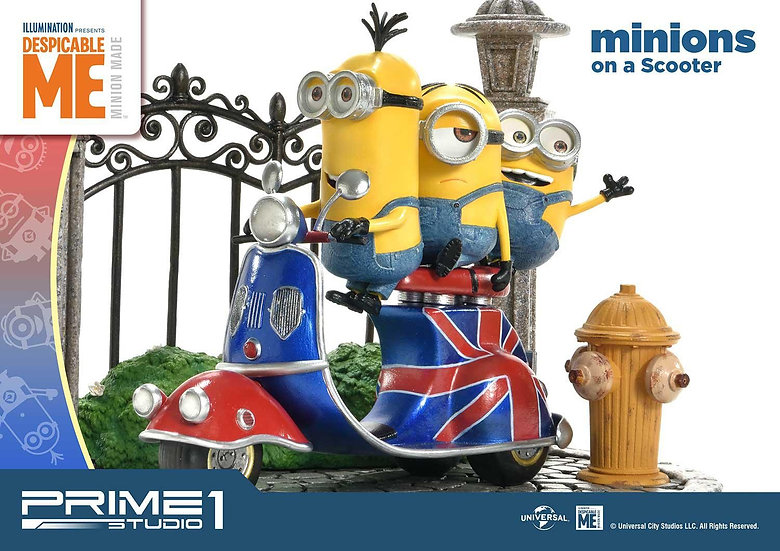 PRIME1STUDIO : Minions on a Scooter