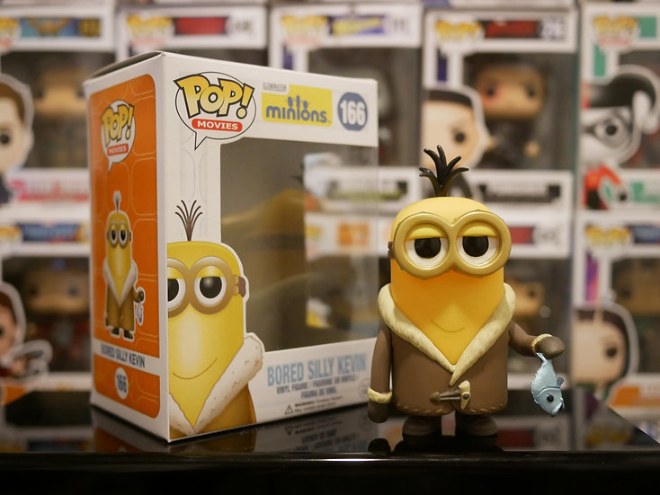 Funko Pop Movies : Minions - Bored Silly Kevin