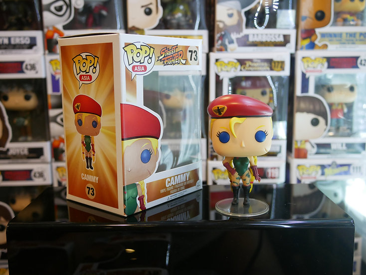 Funko Pop Asia : Street Fighter Series 1 - Cammy