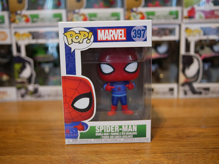 Funko POP Marvel: Holiday - Spider-Man w/ Ugly Sweater