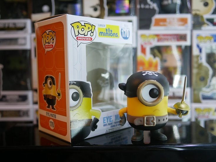 Funko Pop Disney : Minions - Eye, Matie