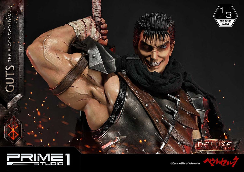 PRIME1STUDIO 1/3 : Berserk, Guts, The Black Swordsman [DX]