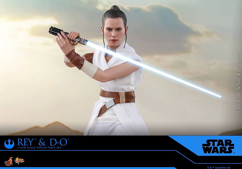 Hot Toys 1/6 : REY AND D-O