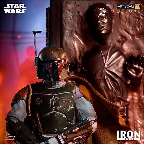 IRON STUDIOS 1/10 : Star Wars : Boba Fett & Han Solo in Carbonite [DX]