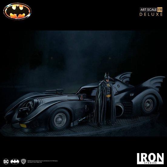 IRON STUDIOS 1/10 : Batman & Batmobile