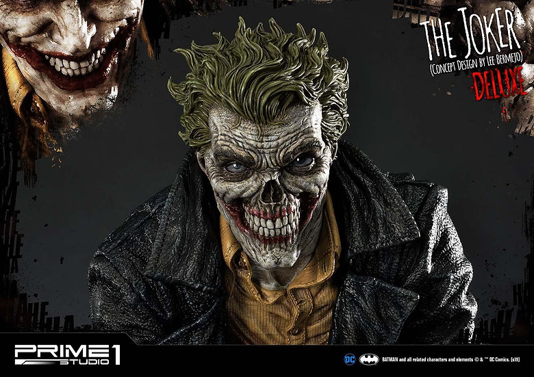 PRIME1STUDIO 1/3 : The Joker Deluxe (Concept Design by Lee Bermejo)