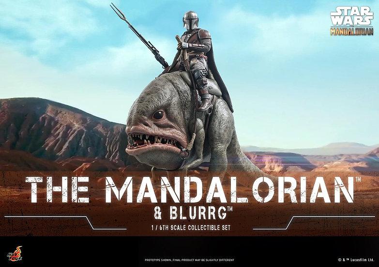 HOT TOYS 1/6 : STAR WARS™ THE MANDALORIAN™ MANDALORIAN™ & BLURRG™