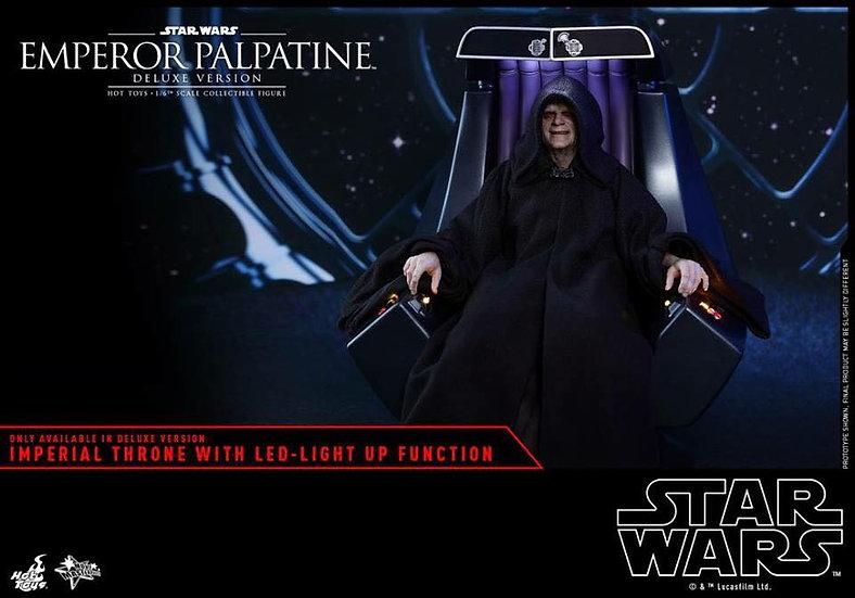 Hot Toys : STAR WARS: EPISODE VI RETURN OF THE JEDI EMPEROR PALPATINE (DELUXE VE