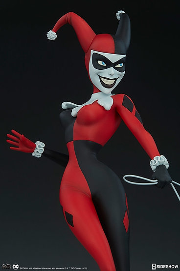 SIDESHOW STATUE : HARLEY QUINN ANIMATED SERIES