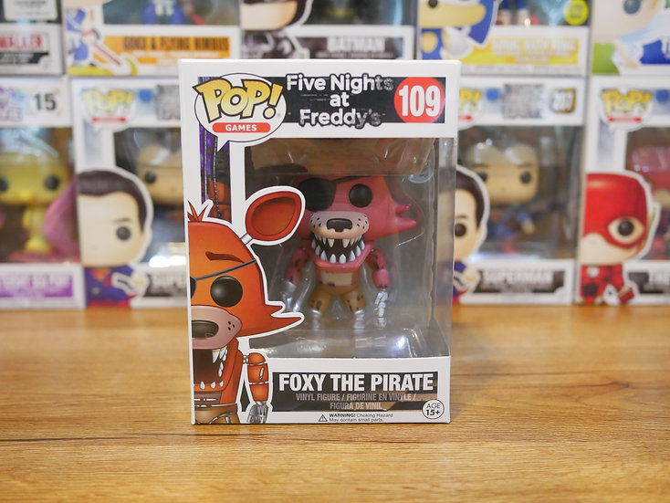 Funko POP Game : Five Nighgts at Freddys - Foxy The Pirate