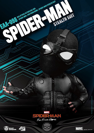 EGG ATTACK : Spider Man: Far From Home (Stealth suit)