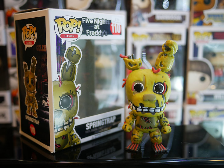 Funko Pop Game : Five Nights at Freddys - Springtrap