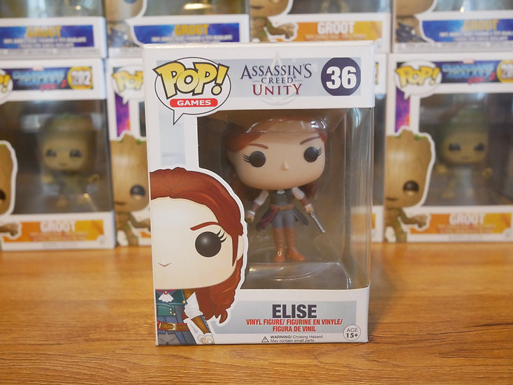 Funko Pop Games : Assassin's Creed - Elise