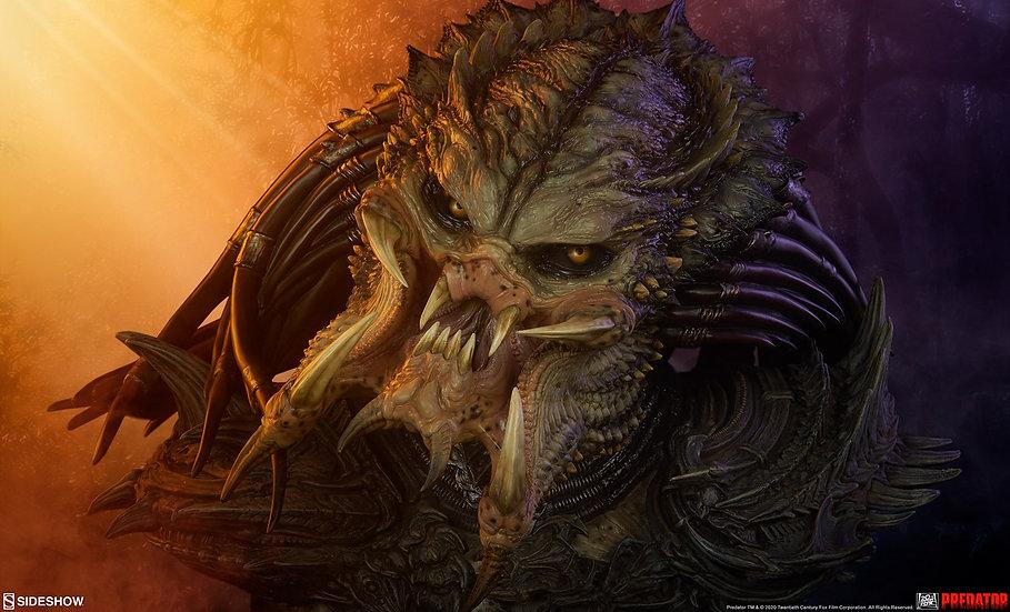 Sideshow Legendary Scale™ Bust : Predator Barbarian Mythos