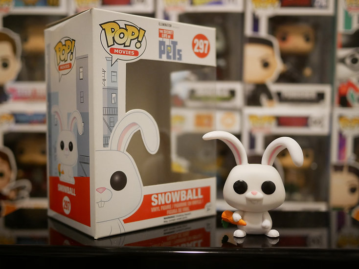 Funko Pop Movies : TheSecret Life of Pets - Snowball