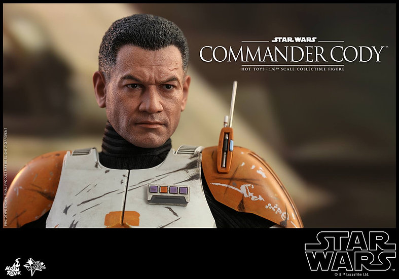 Hot Toys : STAR WARS: EPISODE III REVENGE OF THE SITH COMMANDER CODY