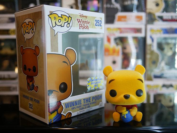 Funko Pop Disney: Winnie the Pooh - Seated Pooh (Flocked) (Ex)