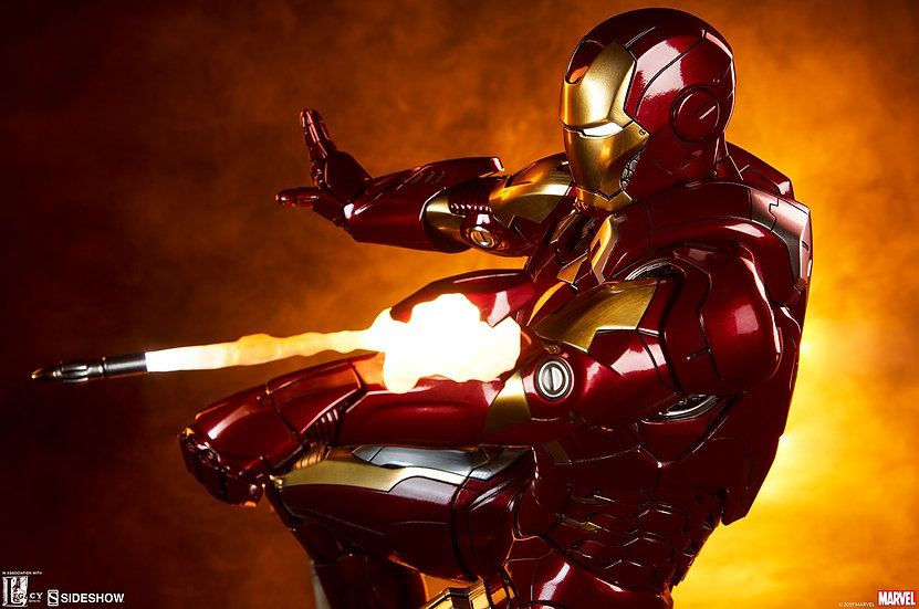 SIDESHOW MAQUETTE : Iron Man Mark VII