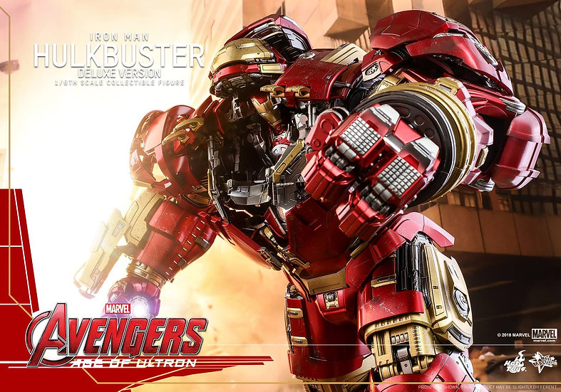 Hot Toys : AVENGERS: AGE OF ULTRON HULKBUSTER (DELUXE VERSION)