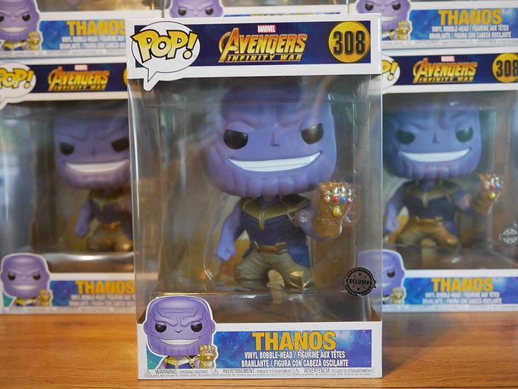 "Funko POP Marvel : Avengers Infinity wars : Thanos 10"""