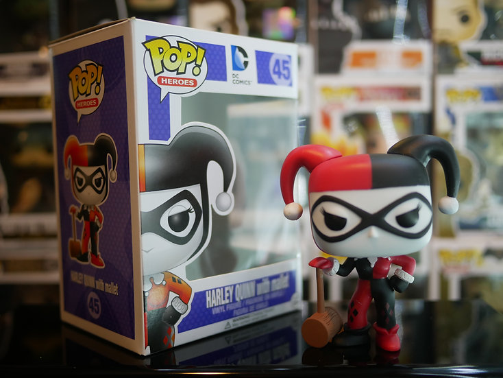 Funko Pop Heroes : Harley Quinn with Mallet