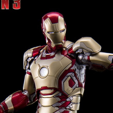 [LIMIT ORDER] KING ARTS : Ironman Mark XLII [42] 1/9 DIECAST