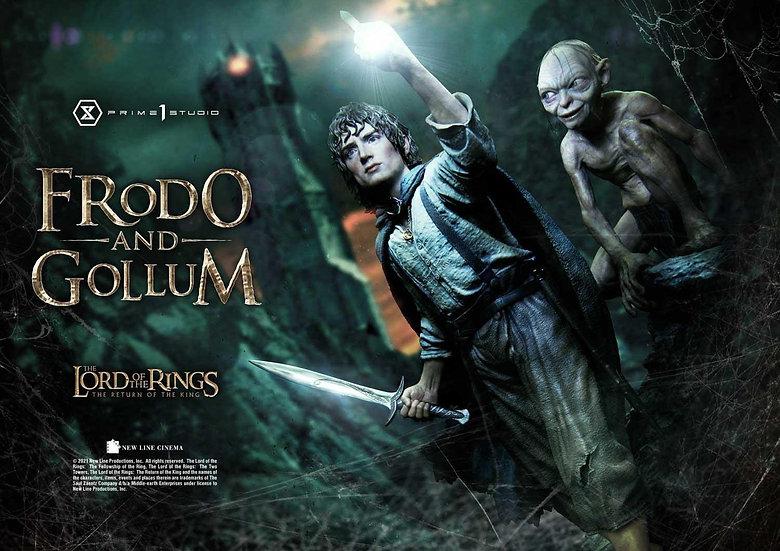 Prime 1 Studio 1/4 : Frodo & Gollum