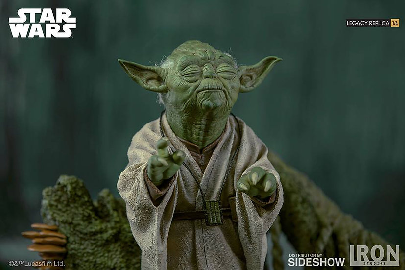 IRON STUDIOS STAR WARS YODA 1/4 SCALE STATUE