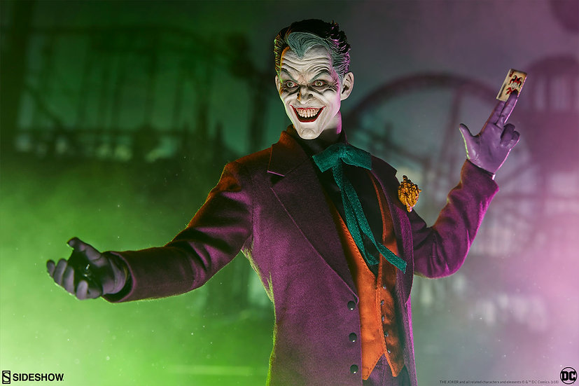 SIDESHOW 1/6 : THE JOKER