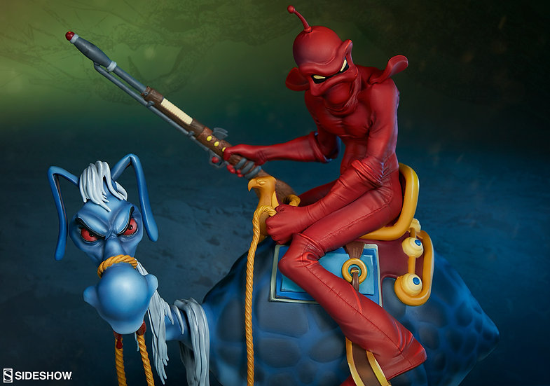 SIDESHOW STATUE : William Stout's Red Rider
