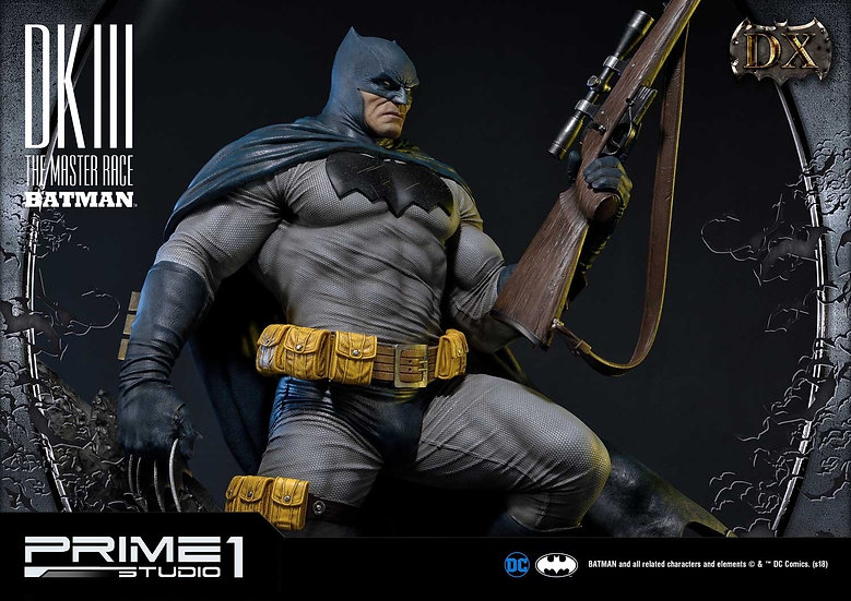 PRIME1STUDIO : BATMAN DARK KNIGHT III - BATMAN [DELUXE]