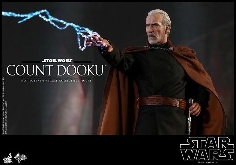 Hot Toys : STAR WARS EPISODE II: ATTACK OF THE CLONES COUNT DOOKU