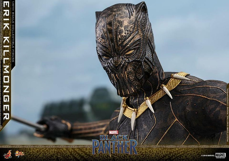 Hot Toys : BLACK PANTHER ERIK KILLMONGER