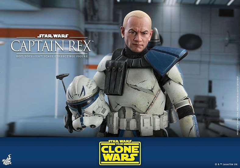 Hot Toys 1/6 : STAR WARS: THE CLONE WARS CAPTAIN REX