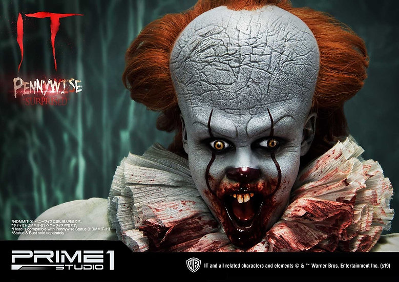 PRIME1STUDIO 1/2 : Pennywise Surprised Bust