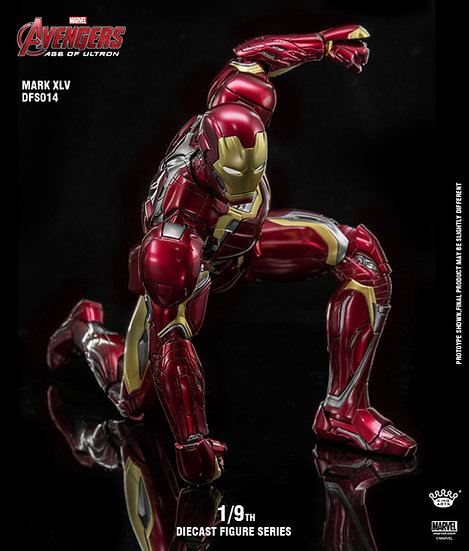 KING ARTS : Iron Man Mark XLV 1/9 DIECAST