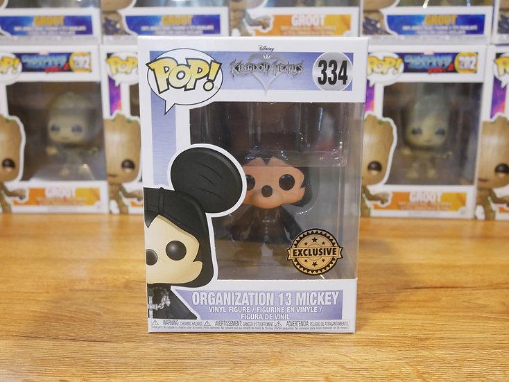 Funko POP Disney: KH -Mickey -Org13Mickey(Hood)