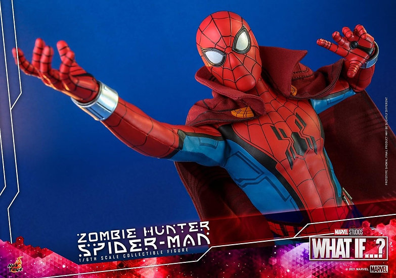 HOT TOYS 1/6 :  WHAT IF…? ZOMBIE HUNTER SPIDEY