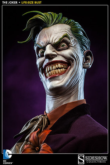 SIDESHOW THE JOKER 1/1 Life-Size Bust