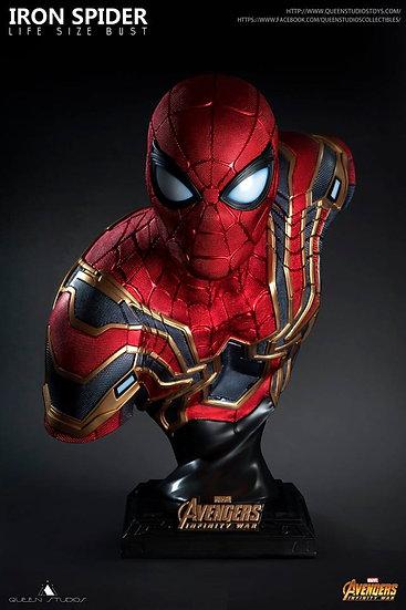 Queen Studios : Avengers Infinity War : Iron Spider Life Size Bust