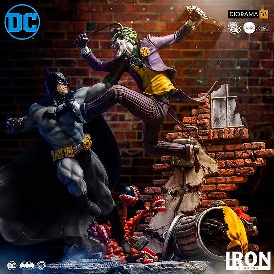 IRON STUDIOS 1/6 : Batman vs The Joker