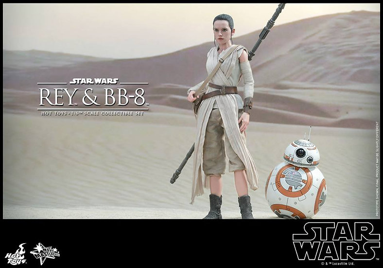 Hot Toys : STAR WARS: THE FORCE AWAKENS - REY AND BB-8