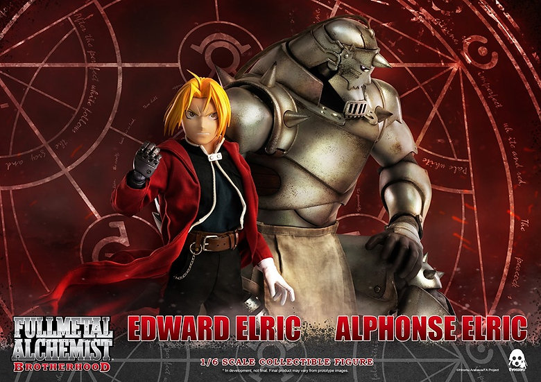 threeZero X Fullmetal Alchemist : Brotherhood Twin Pack Version