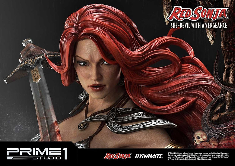 PRIME1STUDIO : Red Sonja  She-Devil with a Vengeance 1/3 Scale