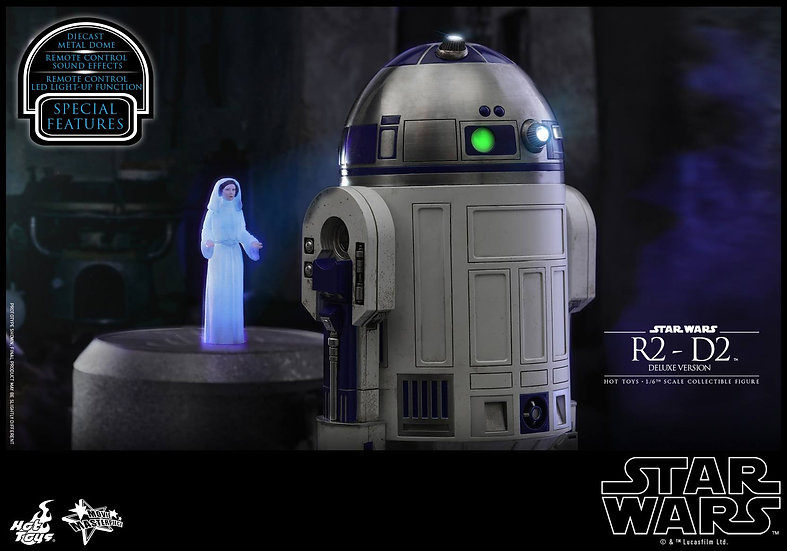 Hot Toys : STAR WARS R2-D2 [DELUXE]