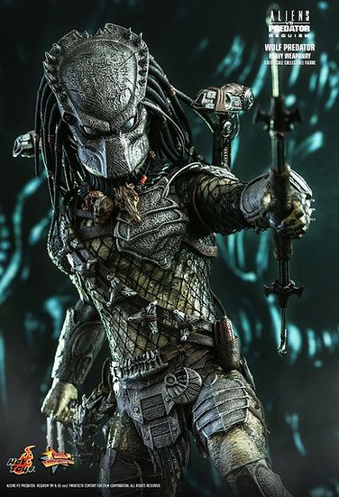 Hot Toys : ALIENS VS. PREDATOR: REQUIEM WOLF PREDATOR (HEAVY WEAPONRY)