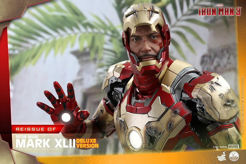[LIMIT ORDER] HOT TOYS 1/4 :  MARK XLII (DELUXE VERSION)